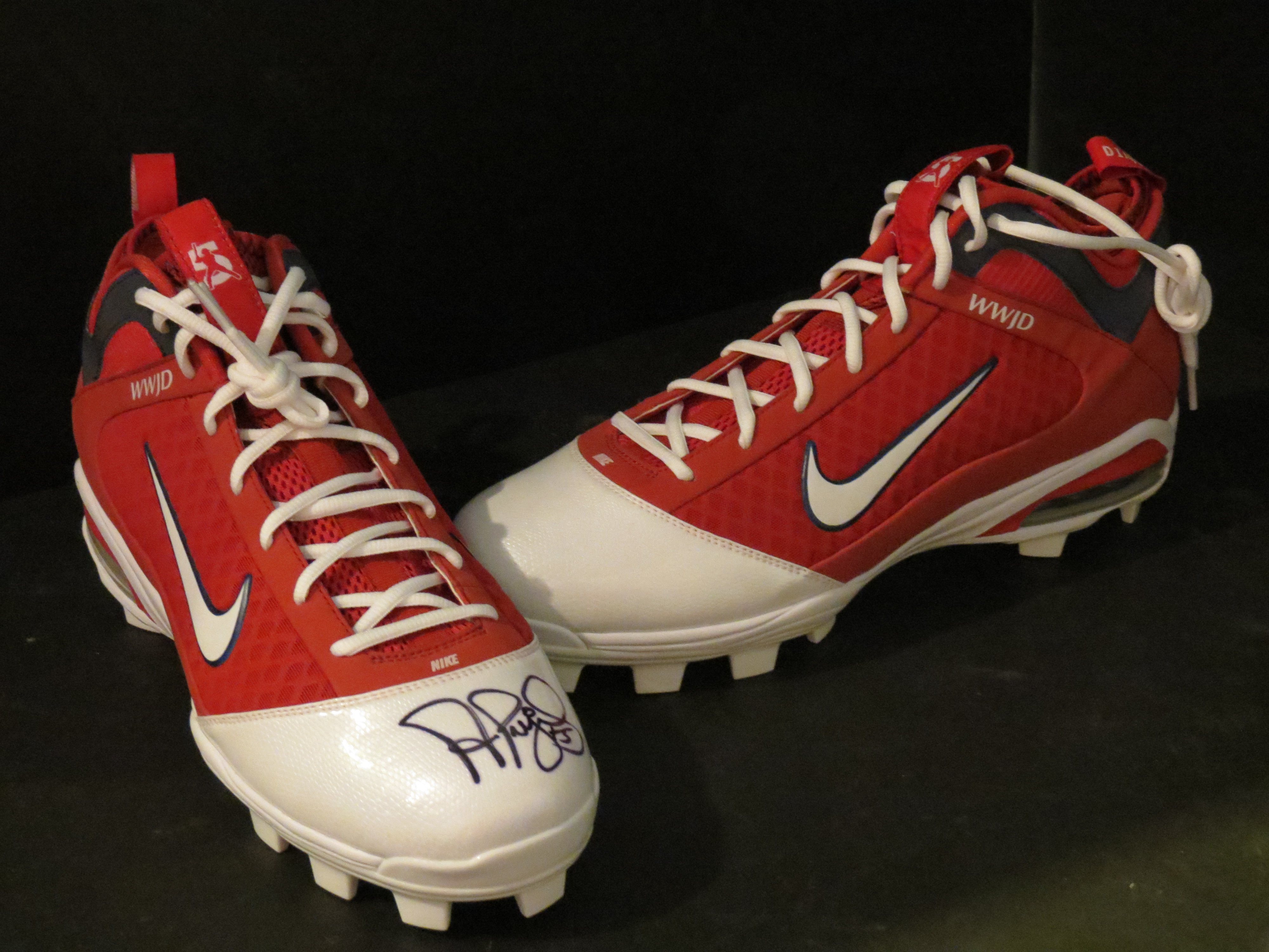 Albert Pujols-Autographed Game Model Cleats-APF (California Angels)