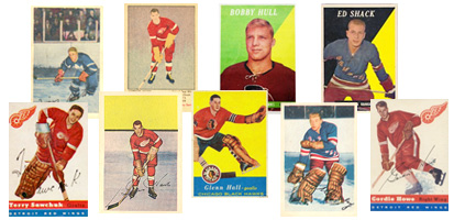 1948 - 1959 Hockey Cards