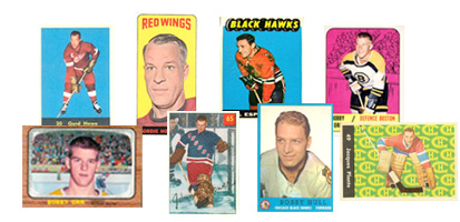1960's Hockey Cards