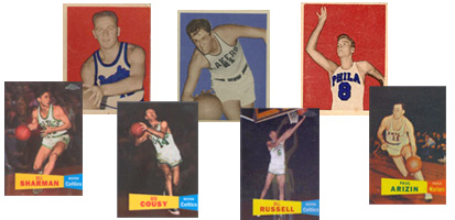 1948 - 1959 Basketball Cards