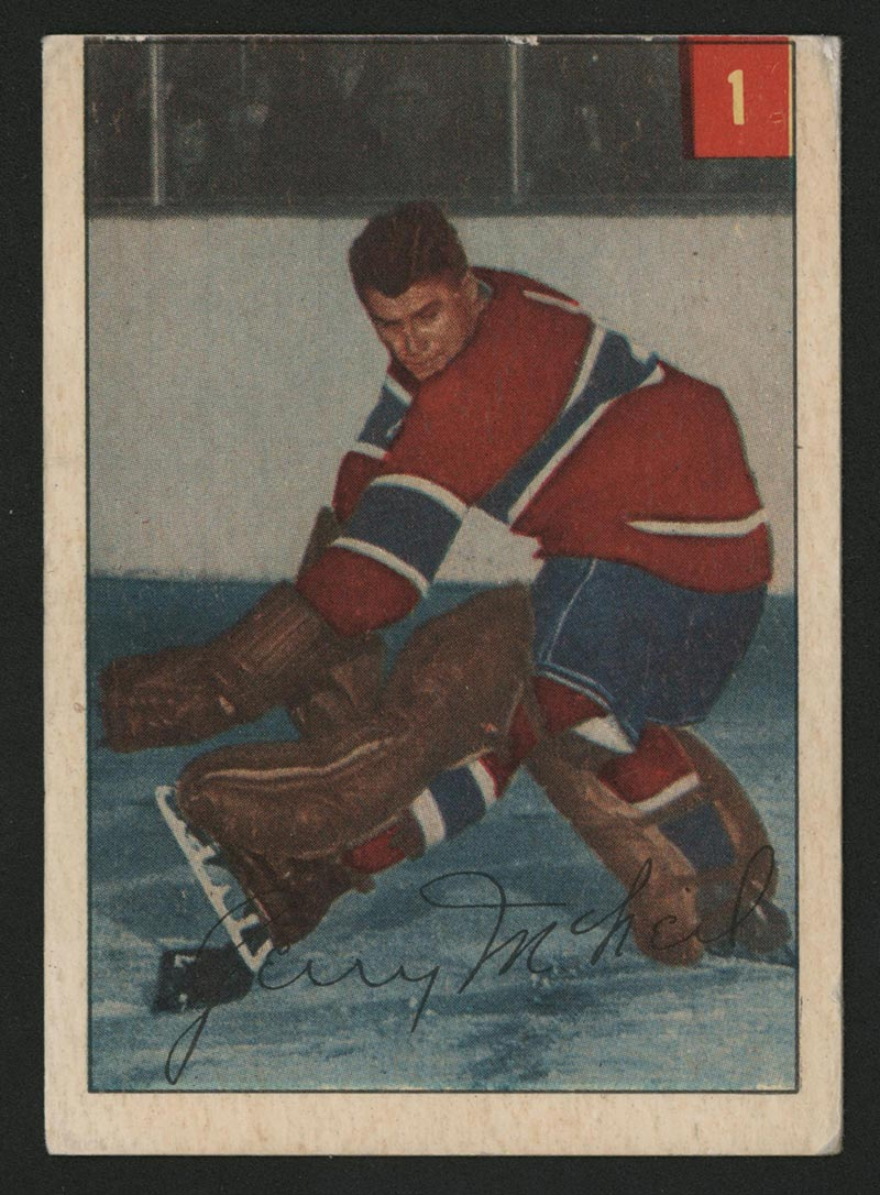 Gerry  McNeil (Montreal Canadiens)