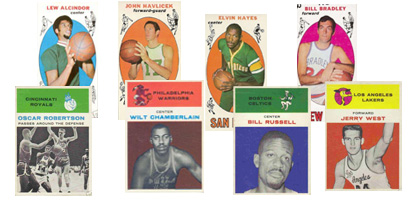 1960's Basketball Cards