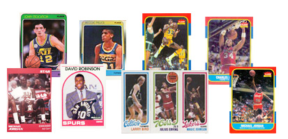 1980's Basketball Cards