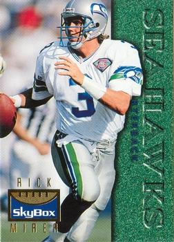 Rick Mirer Autographed Card (Seattle Seahawks)