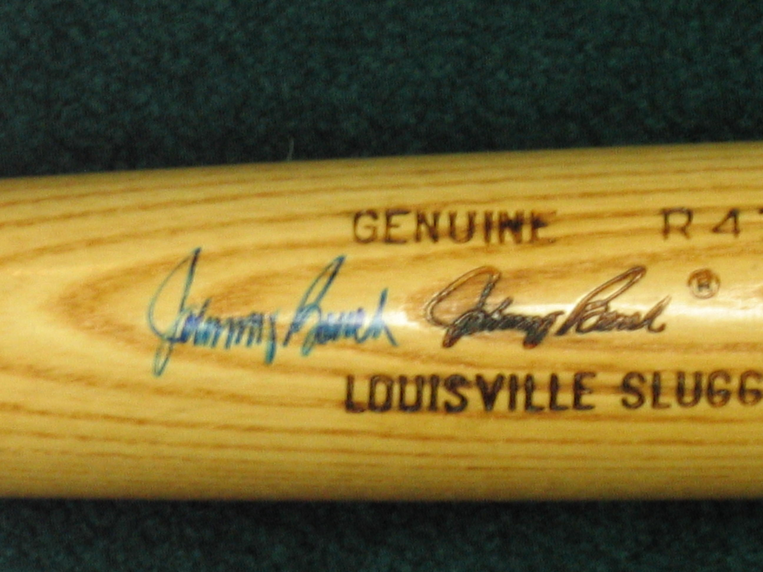 Johnny Bench Autographed Bat (cinncinati reds)