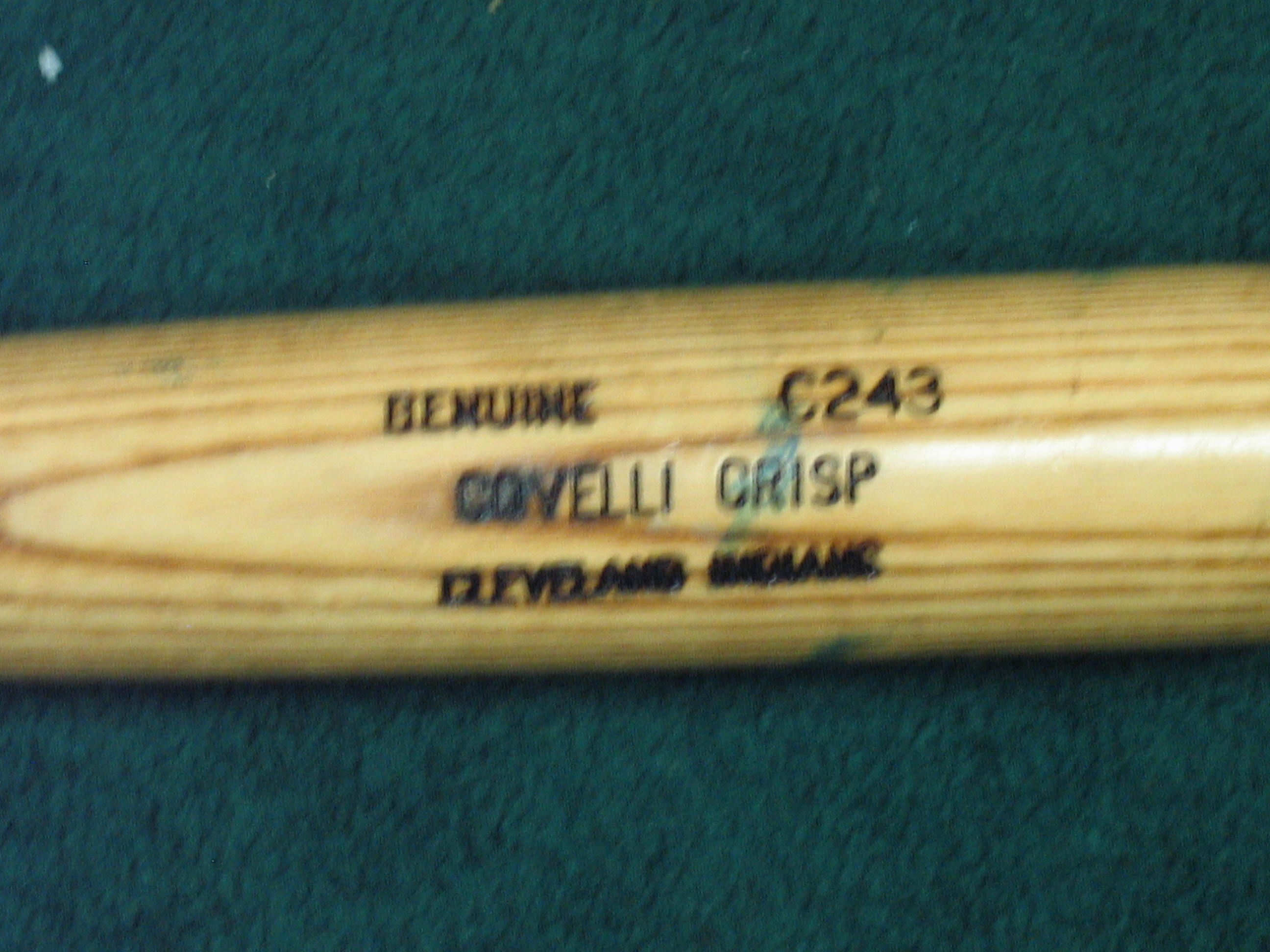 Coco Crisp Game Used Bat (Cleveland Indians)