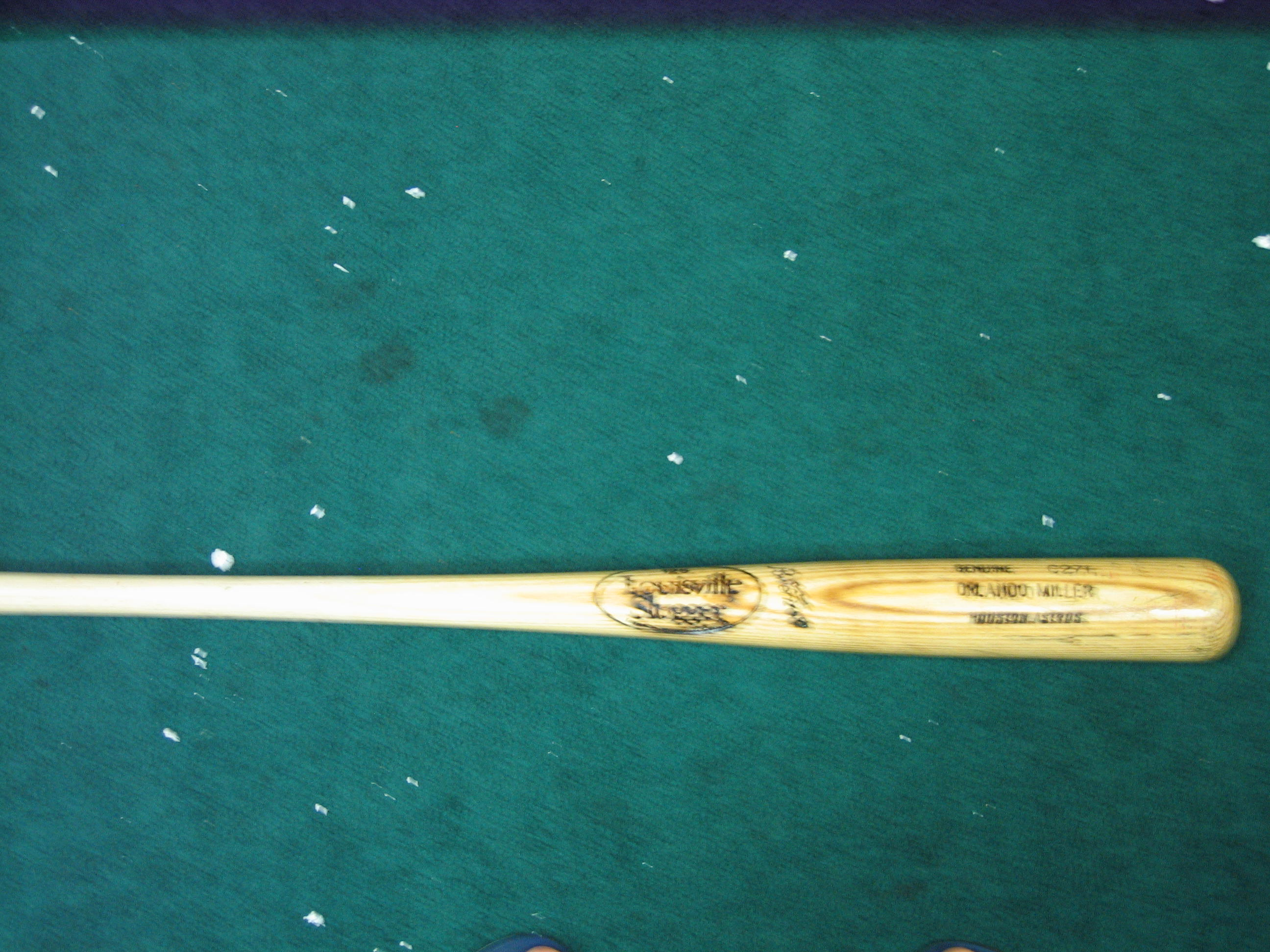 Orlando Miller Game Used Bat (Houston Astros)