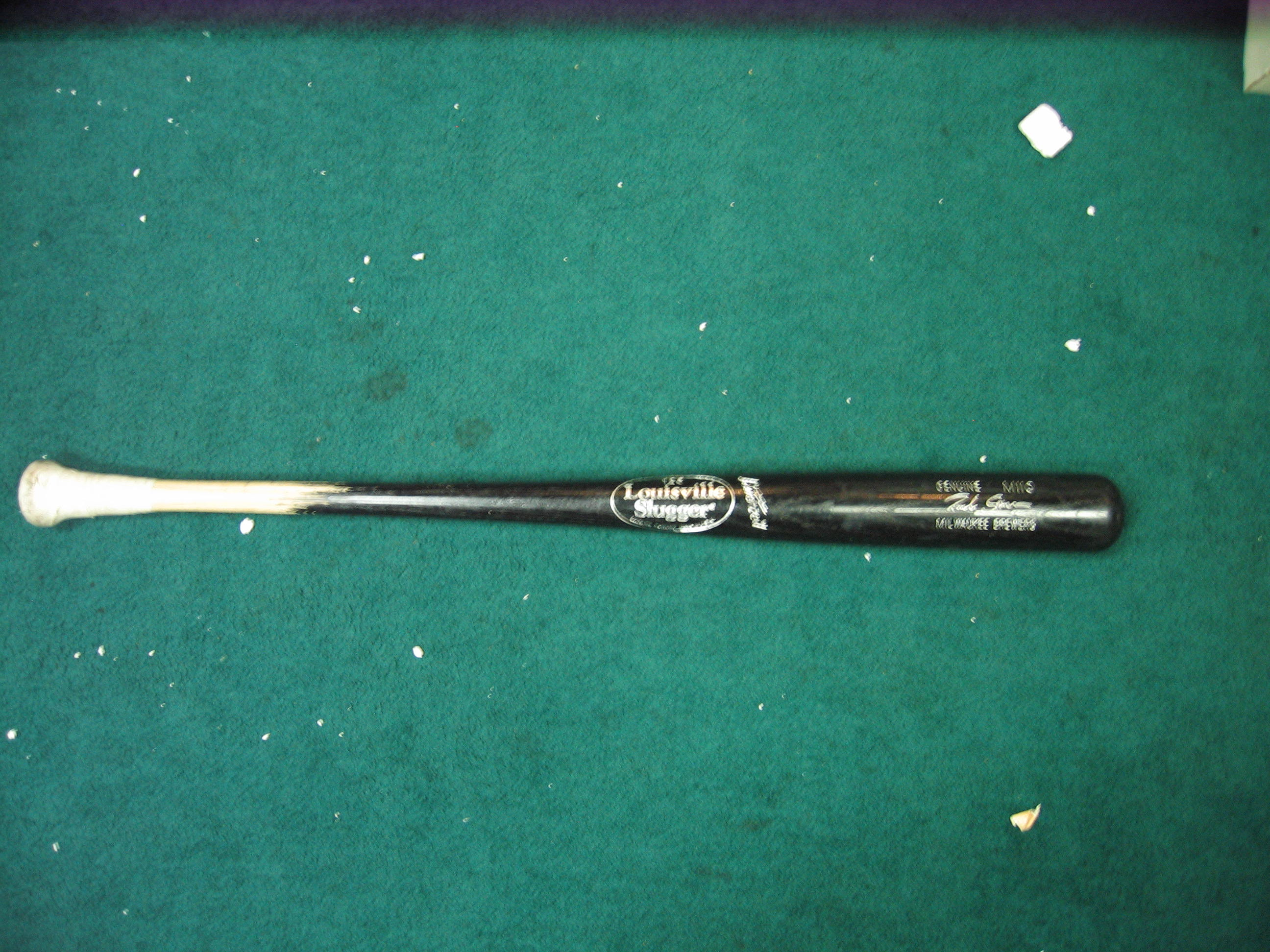 Richie Sexson Game Used Bat (Milwaukee Brewers)
