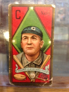 cy young (sgc 30) psa (Cleveland Indians)