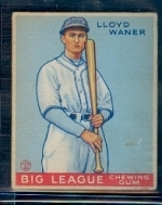lloyd waner (Pittsburgh Pirates)