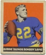 Bobby  Layne (New York Bulldogs)