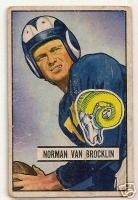 Norm  Van Brocklin RC (Los Angeles Rams)