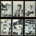 1953 Bowman Black and White Complete Set