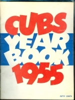 1955 Chicago Cubs Yearbook (Chicago Cubs)