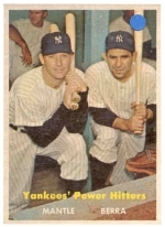 Yogi  Berra-Mickey Mantle (New York Yankees)