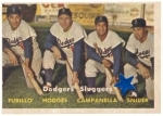 Furillo/Hodges/Campanella/Snider (Brooklyn Dodgers)