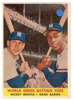 Mickey Mantle / Hank Aaron