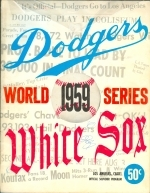 1959 World Series Program Los Angeles Dodgers Chicago White Sox (Los Angeles Dodgers)