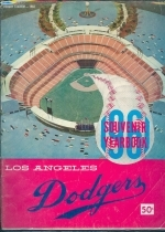 1961 Los Angeles Dodgeres Yearbook (Los Angeles Dodgers)
