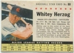 Whitey Herzog COM (Kansas City Athletics)