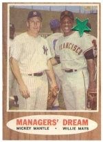 Managers'  Dream-Mickey Mantle-Willie Mays