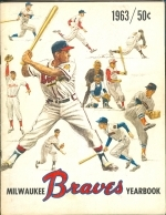 1963 Milwaukee Braves Yearbook (Milwaukee Braves)
