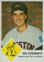 Bob Aspromonte (Houston Colt .45s)