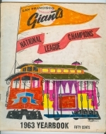 1963 San Francisco Giants Yearbook (San Francisco Giants)