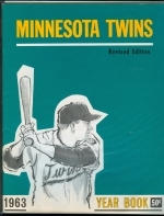 1963 Minnesota Twins Yearbook (Minnesota Twins)