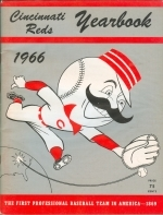 1966 Cincinnati Reds Yearbook (Cincinnati Reds)
