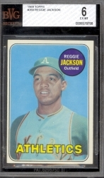 Reggie Jackson RC (Oakland Athletics)