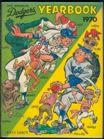 1970 Los Angeles Dodgers Yearbook (Los Angeles Dodgers)