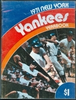 1971 New York Yankees Yearbook (New York Yankees)