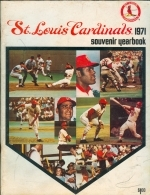 1971 St. Louis Cardinals Yearbook (St. Louis Cardinals)