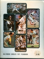 1971 Baltimore Orioles Yearbook (Baltimore Orioles)