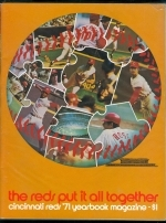 1971 Cincinnati Reds Yearbook (Cincinnati Reds)