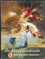 1972 St. Louis Cardinals Yearbook (St. Louis Cardinals)