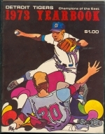 1973 Detroit Tigers Yearbook (Detroit Tigers)