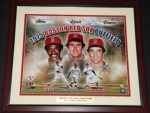 1975 Boston Red Sox Outfield -Autographed