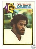Earl  Campbell RB (Houston Oilers)