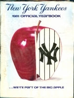 1981 New York Yankees Yearbook (New York Yankees)