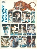 1981 Detroit Tigers Yearbook (Detroit Tigers)