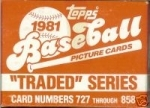 1981 Topps Traded Set