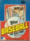 1982 Topps Box - 36 Packs
