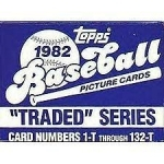 1982 Topps Traded Set