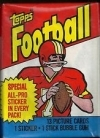 1983 Topps Football Pack - Allen Rc?