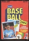 1984 Fleer- 36 Packs