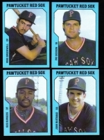 1985 Pawtucket Red Sox Team Set (Pawtucket Red Sox)