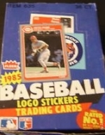 1985 Fleer- 36 Packs