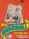1985 Topps Wax Box-36 Packs